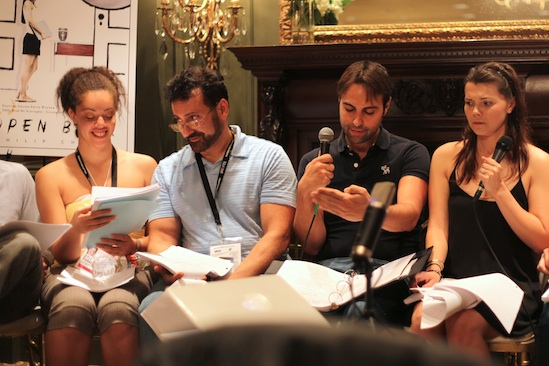 Table Read of Grand Prize Winning Feature Script,
